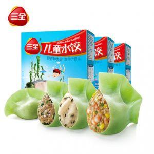 儿童水饺3口味组合装300g*3