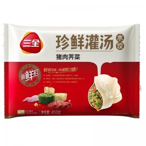 珍鲜灌汤猪肉荠菜450g