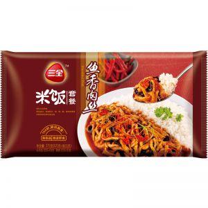 微波米飯魚香肉絲375g