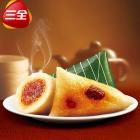 三全龙舟粽端午真空粽子9只金丝蜜枣甜粽300g*3袋 新鲜粽叶包裹