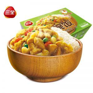 一碗飯咖喱雞丁375g自加熱米飯