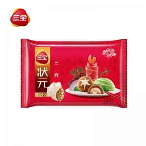 状元水饺三鲜702g