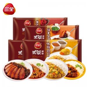 微波米飯4味4盒裝375g*4