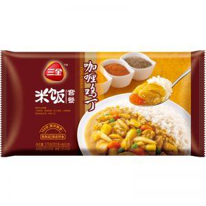微波米飯咖喱雞丁味375g
