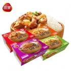 一碗饭4口胃4盒375g*4自加热米饭