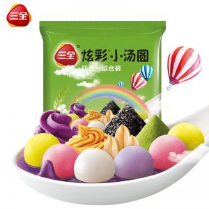 炫彩小汤圆绿包260g