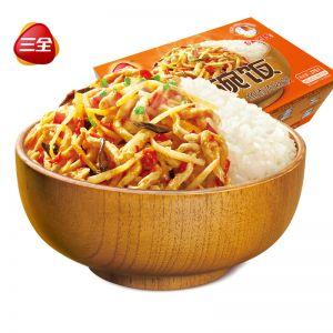 一碗飯魚香肉絲375g自加熱米飯
