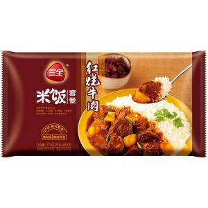 微波米饭红烧牛肉375g