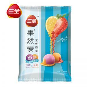 果然愛湯圓香橙草莓雙拼320g