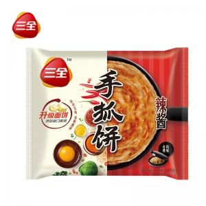 千丝手抓饼辣酱味320g